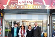 PERUANO JOSE GALVEZ TRIUNFA EN INGLATERRA CON SU RESTAURANTE » SABOR PERUANO»…