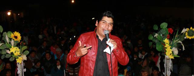 RONALD GUTIERREZ  promociona tercer disco