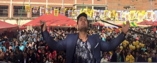 DEYVIS OROSCO NO PARA, RECONQUISTO BOLIVIA