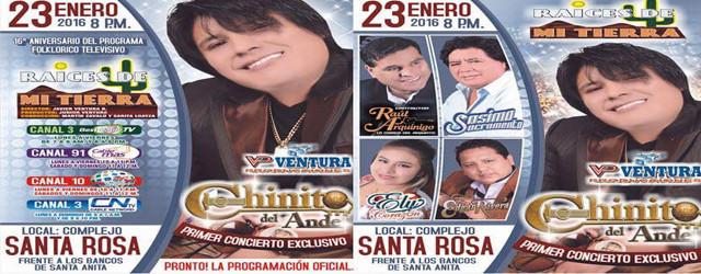 aniversario del programa «RAICES DE MI TIERRA» en el complejo Santa Rosa