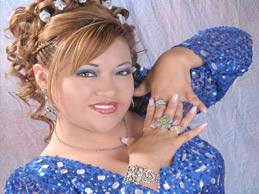 JAQUELIN PUENTE  La artista más  completa del Perú