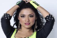 Katy Jara en festival de cumbia en USA