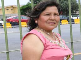 A LA MAESTRA CON CARIÑO, Perlita de Huaral de santoyo
