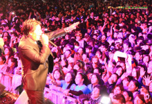 El amor del público hacia el  CHINITO DEL ANDE  no tiene fecha de vencimiento
