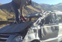 Juancito Guerra sufrió accidente automovilístico