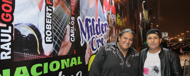 MILDER  ORE INAUGURÓ SU PEÑA disco EN LIMA