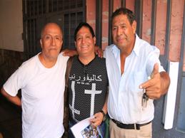 GRUPO CELESTE DE ANIVERSARIO y Pascualillo lo saluda