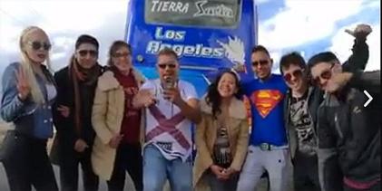 Diez músicos peruanos resultan heridos en un accidente en Alto Chijini