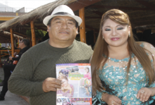 PAPÁ DE JAQUELIN PUENTE FUE SU PRIMER COMPOSITOR