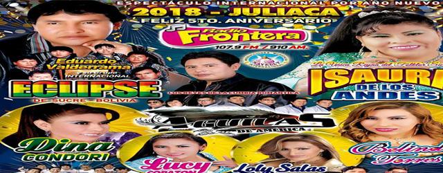 ESPECTÁCULO INTERNACIONAL EN EXPLANADA SUR DE JULIACA