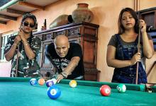 HIJAS DE DIRECTOR DE SIDERAL TRIUNFAN con cumbia