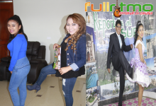 DOS PATADITAS  PARA ALEXANDRA DOMINGUEZ, en Juliaca