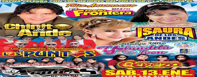 FELIZ ANIVERSARIO RADIO FRONTERA DE TACNA