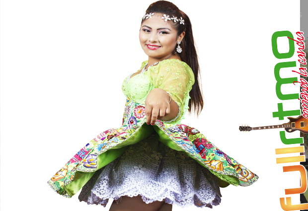 ROSITA CORAZON   Es la nueva estrella del  Huayno con arpa y violín