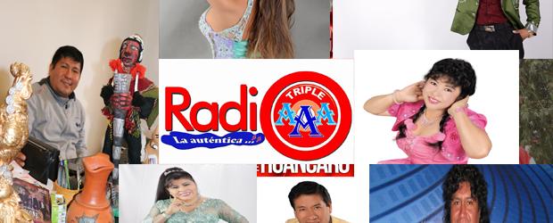 Feliz segundo  aniversario!!  Radio Triple A