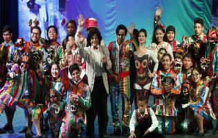 magia y color en COMAS gracias al circo de César Aedo