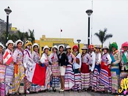 pasacalle de danzas: wititi del Valle del Colca