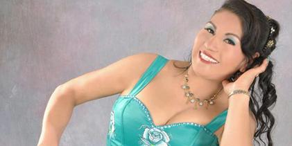 Desde Sihuas llega  Elvira Morillo