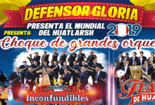 defensor gloria presenta mundial del HUAYLARSH 2019