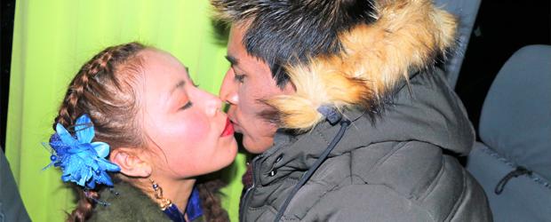 ALFREDO LARICO Y NICOL se aman más que nunca