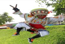 danzantes de tijeras con MUÑEQUITA MILLY