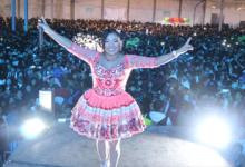 cantaron con ella en Huamanga