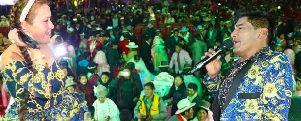 vienen a LIMA Alfredo Larico y Nicol Ramos