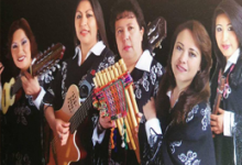 grupo femenino BOLIVIA en Brisas