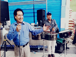 GIOMAR LEON EN FESTIVAL MUSICAL Y DE SABOR PERUANO