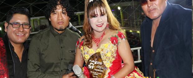FULL RITMO le dio el máximo galardón a YOLANDA IVON