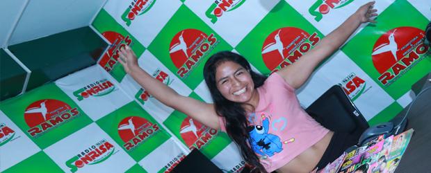 DINA, LA ANIMADORA de Chachapoyas pa' todo el mundo