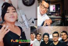 ROSITA DE ESPINAR  CON MUSICOS DE SALA GRABA campaña contra el coronavirus