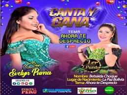 las ganadoras de Canta y Gana de Evelin Puma