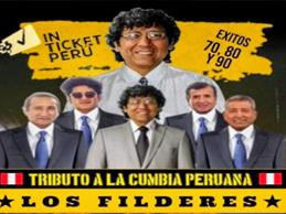 show en vivo con Los Filderes, tributo a la cumbia peruana