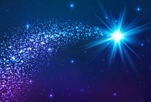 Las estrellas iluminan, llevan alegría a su pueblo….