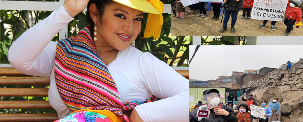 LESLY CABELLO CON PROGRAMA DE TV SOLIDARIO