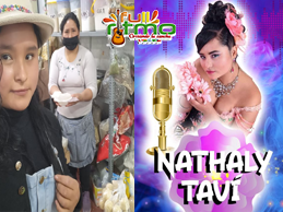 NATHALY TAVI reina de La Paradita de Comas