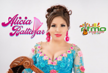 Alicia Baltazar chotea su  arpista ¿Se separaron?