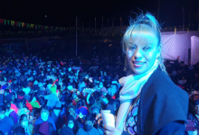 LINDA LIZBETH hizo gozar a multitud sin ninguna gota de chela