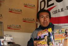 REYNALDO COILA CON LA DECANA RADIO JULIACA