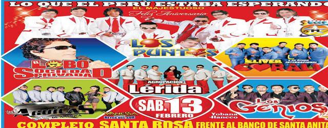 ANIVERSARIO DE LOS PUNTOS DEL AMOR ESTE SABADO 13 DE FEBRERO, Star producciones