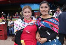 Anita y Jahaira en yunzada