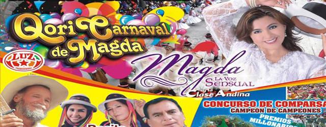 MAGDA LA VOZ SENSUAL TRAE EL CARNAVAL DE ORO