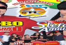 STAR PRODUCCIONES CON EL LOBO Y STEFANY AGUILAR EN SU ANIVERSARIO