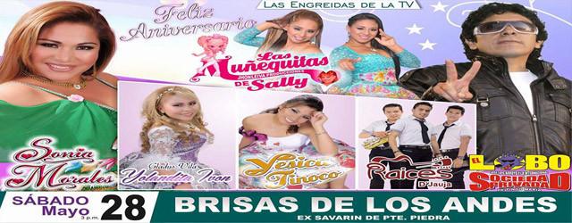 aniversario de las Muñequitas de Sally en Brisas de los Andes