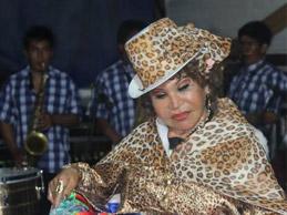 Tigresa del Centro en fiesta de Iván Rojas