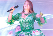 GLORIA SANCHEZ  Grabó video clip  en vivo sin playback