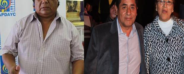 SOSIMO SACRAMENTO y Javier Ventura locos por el huayno con arpa