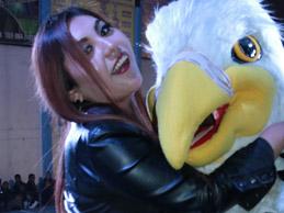 SHERLYN MELISSA  despidióa Águilas