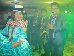 VIOLETA CHURA batió Record en el 2016
